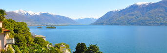 Fewo Calebris in Brissago mit Pool & Seesicht
